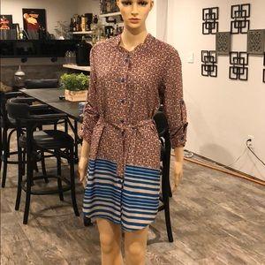 Collective concepts shirt dress size medium